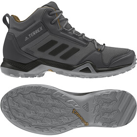 adidas TERREX AX3 Mid Gore-Tex Zapatillas Senderismo Resistente al Agua Hombre, grey five/core black/mesa